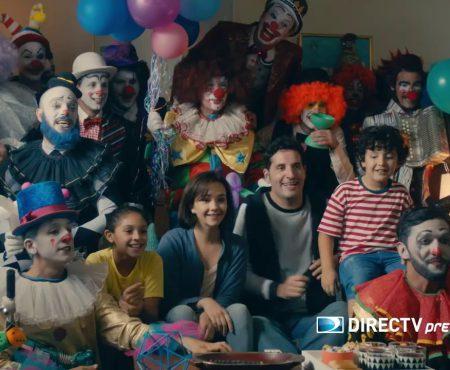 """Ad Directv Prepago """"Payasos"""" OchoMusica"""
