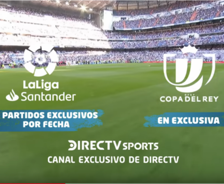 Ad DIRECTV Liga Española OchoMúsica